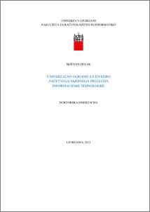 Master thesis autism